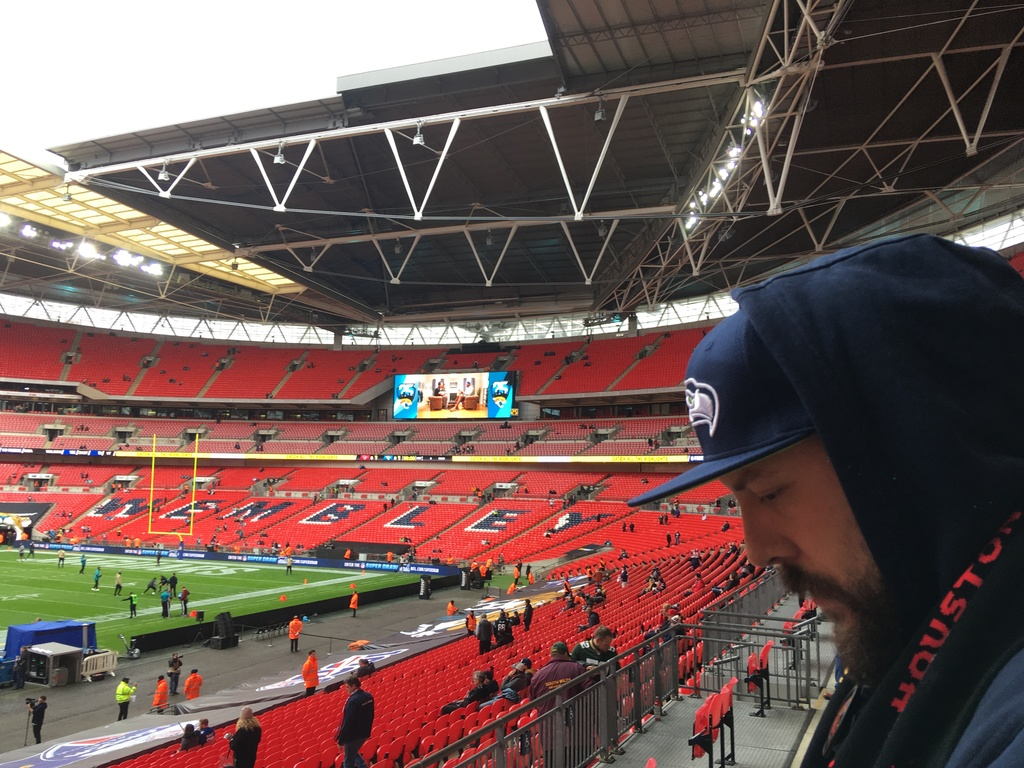 BRACHTKERL London Games 2019 Anunft im Wembley Stadion