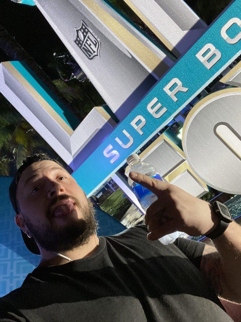 Miami Beach Super Bowl Sign