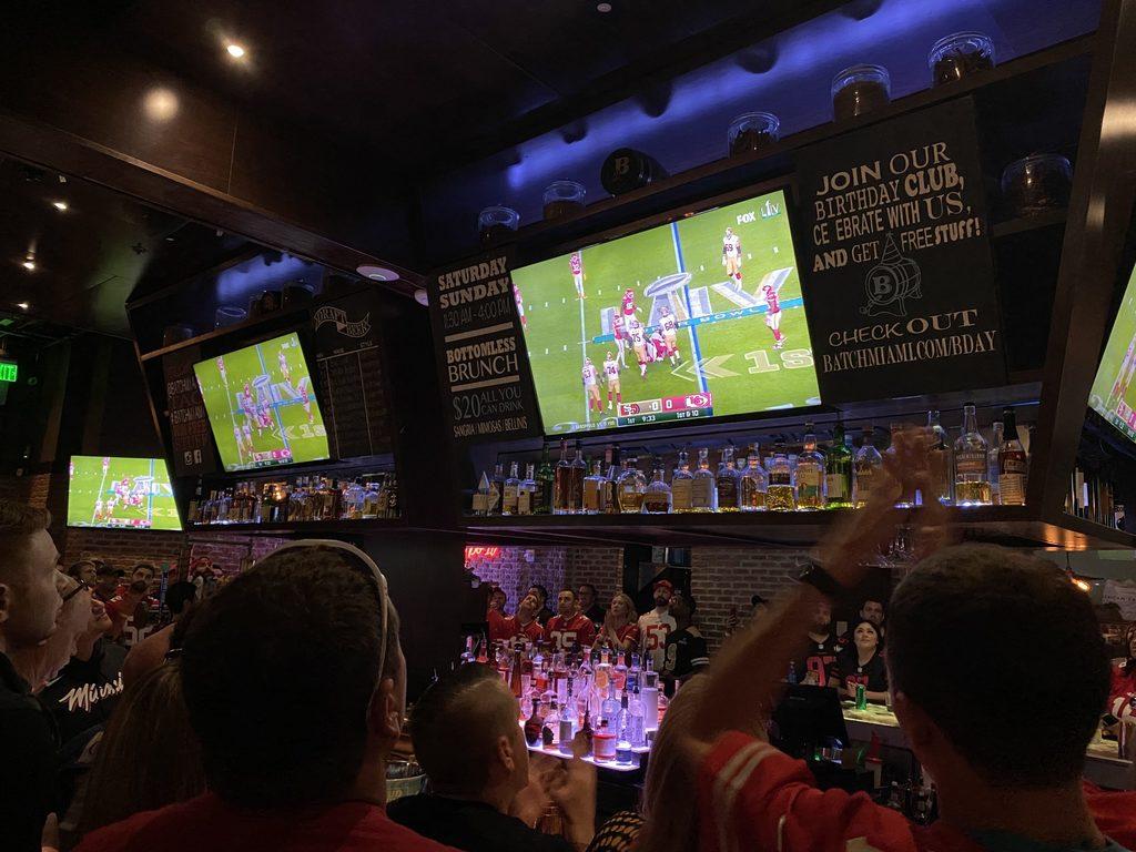 Super Bowl LIV Party im Batch Miami